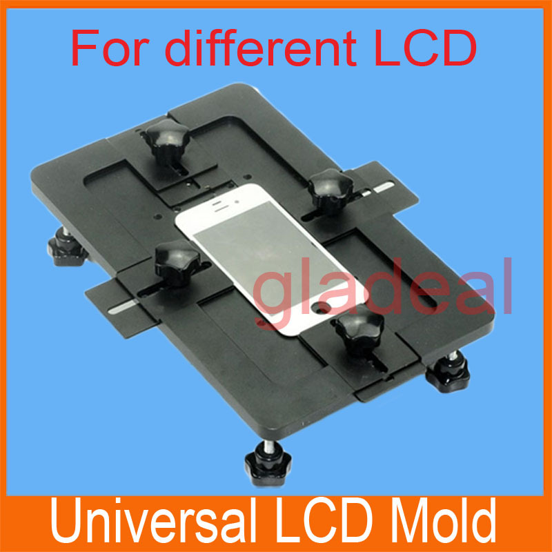 ФОТО 2016 Universal Metal LCD Mold Touch Screen Repair Holder Clamp Refurbish Separator Kit Tool For iPhone 4 5 6 Plus  Galaxy HTC...