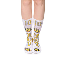 Hot Sale 10 Colors Emoji Bee Women's Socks Long Funny Cute Unisex 3D Full Print Casual Fitness Harajuku Hosiery