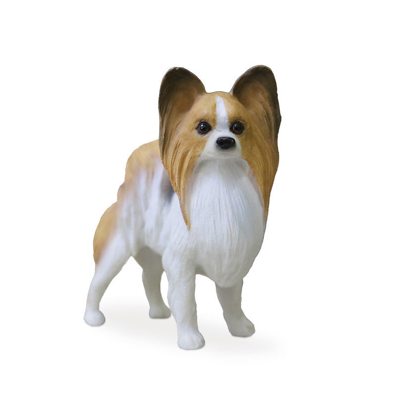 New Miniature Resin Papillon Dogs FREE SHIPPING!!!!