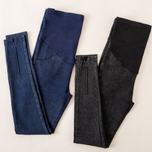 New Maternity Jeans Fashion Elastic Pants For Pregnancy Belt Clothes Pregnant Women Mama Trousers