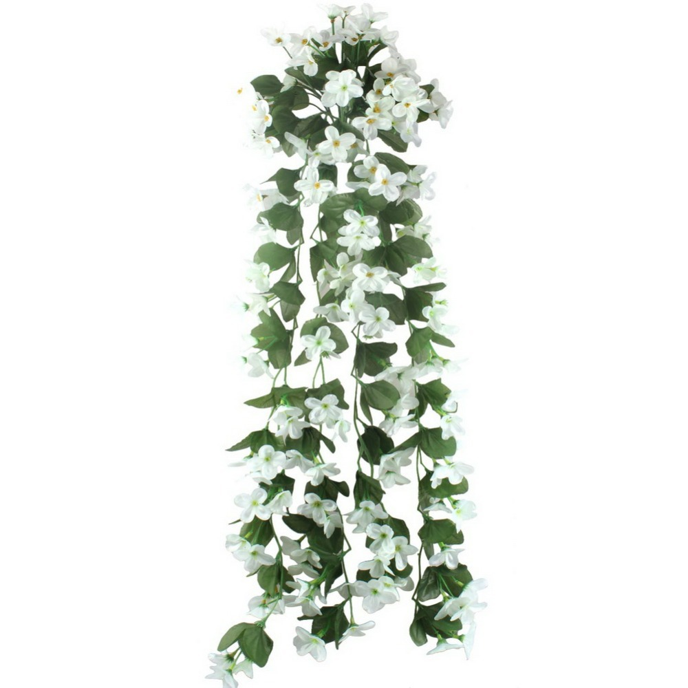 5pcslot artificial flowers for wedding decoration cheap silk 5pcslot artificial flowers for wedding decoration cheap silk artificial flowers home garland fake hanging plants party supplies in artificial dried dhlflorist Images