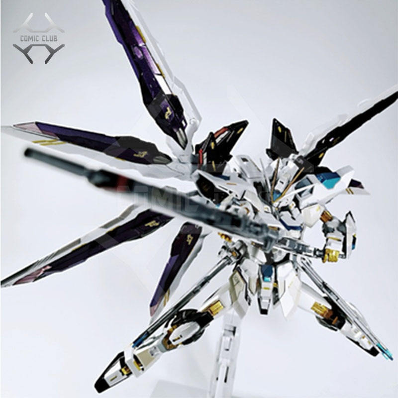 COMIC CLUB IN-STOCK Metalclub Metalgear Metal Build MB Gundam Strike Freedom White Color High Quality Action Figure