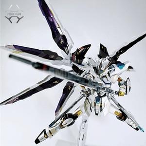 COMIC CLUB IN-STOCK metalclub metalgear metal build MB Gundam strike freedom white color high quality action figure(China)