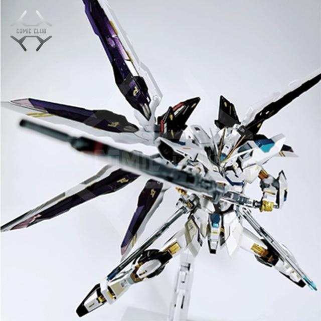 COMIC CLUB IN STOCK metalclub metalgear metal build MB Gundam strike freedom white color high quality action figure