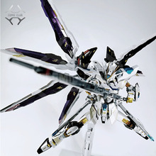 TRUYỆN TRANH CÂU LẠC BỘ TRONG KHO metalclub metalgear kim loại xây dựng MB Gundam strike tự do màu trắng chất lượng cao hành động hình