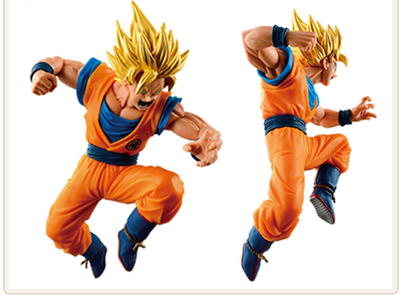 NEW hot 15cm dragon ball Kakarotto Son Goku Super Saiyan 3 action figure toys collection christmas toy doll new hot 17cm avengers thor action figure toys collection christmas gift doll with box j h a c g