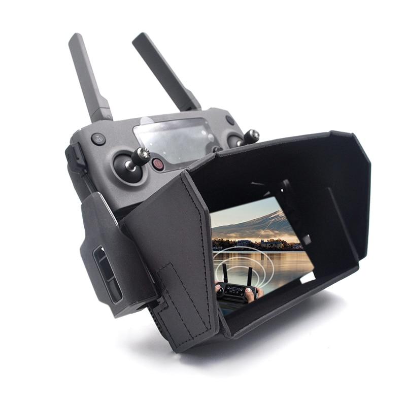 4.7-5.5 Inch Smartphone Folding Sunshade FPV Monitor Sun Hood Case For DJI Mavic 2 Zoom Mavic Air Parrot ANAFI Controller Black