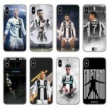 Ronaldo Juventus Phone Case for iPhone 7 7 Plus 8 X XR XS Max