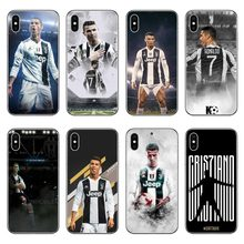 dc483471c8 Juventus Football star Real Cristiano Ronaldo CR7 Hard Phone Case Cover  Coque For iPhone 5 5S SE 7 XR XS Max6 6SPlus 8 8 Plus X