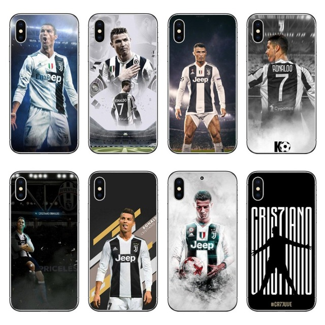Juventus Football star Real Cristiano Ronaldo CR7 Hard Phone Case Cover  Coque For iPhone 5 5S SE 7 XR XS Max6 6SPlus 8 8 Plus X 8c70c1a11