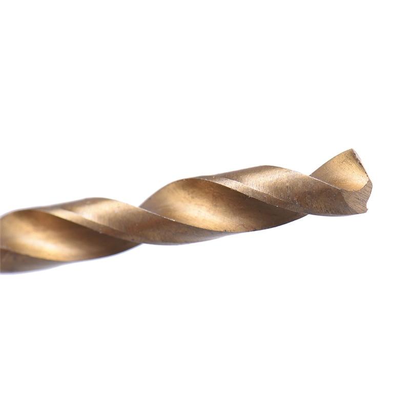 Juego de brocas recubiertas de titanio de acero de alta velocidad - Broca - foto 6