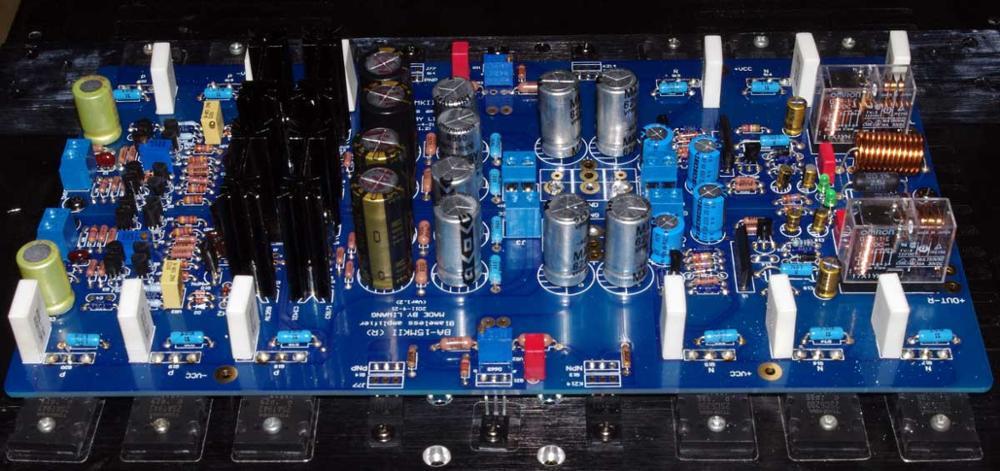 bilder für KRELL KSA100 verbesserte BA15MKII leistungsverstärker kit