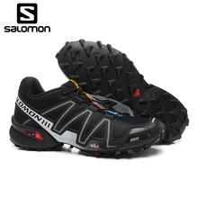 Salomon Shoes Men Running Shoes Speed Cross 3 CS III Outdoor Shoes Breathable Zapatillas Lace-up Hombre Fencing Sneaker