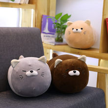 Cute Anime Cat Plush Toy Stuffed Soft Animal Cartoon Playmate Doll Lovely Sofa Pillow Kawaii Kitten Soft Toys for Kids Baby Gift(China)