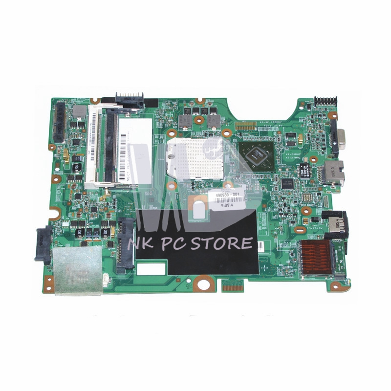 490939-001 48.4J103.011 Main Board For Compaq Presario CQ50 G50 CQ60 G60 Laptop Motherboard Socket s1 MCP77MV-A2 DDR2 Free CPU wholesale for compaq presario g57 cq57 motherboard 646177 001 genuine laptop mainboard 100