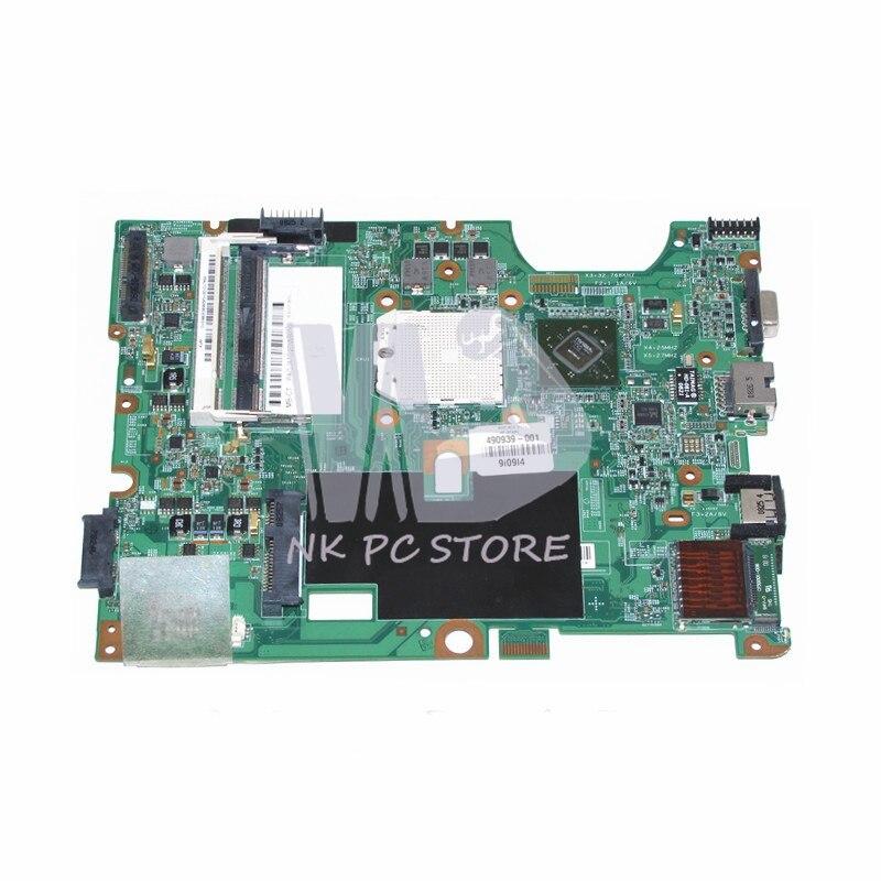 NOKOTION 490939-001 48.4J103.011 Main Board For Compaq Presario CQ50 G50 CQ60 G60 Laptop Motherboard Socket s1 DDR2 Free CPUNOKOTION 490939-001 48.4J103.011 Main Board For Compaq Presario CQ50 G50 CQ60 G60 Laptop Motherboard Socket s1 DDR2 Free CPU