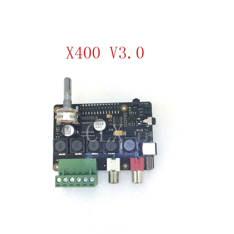 Raspberry Pi DAC Full HD Class D Amplifier I2S PCM5122 X400 Audio Expansion Board Raspberry Pi