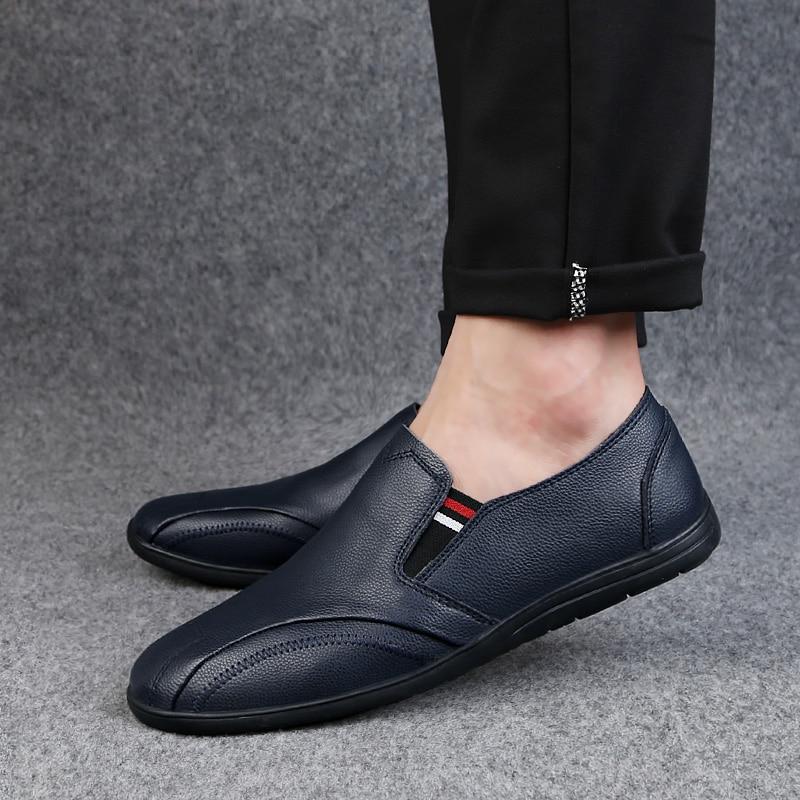 2018 nouveau style casual chaussures mocassins respirant jeunesse - Chaussures pour hommes - Photo 4