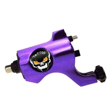 Hot Sales Professional Bishop Rotary Tattoo Machine For Shader and Liner Purple High Quality Tattoo Machine Free Shipping(China)