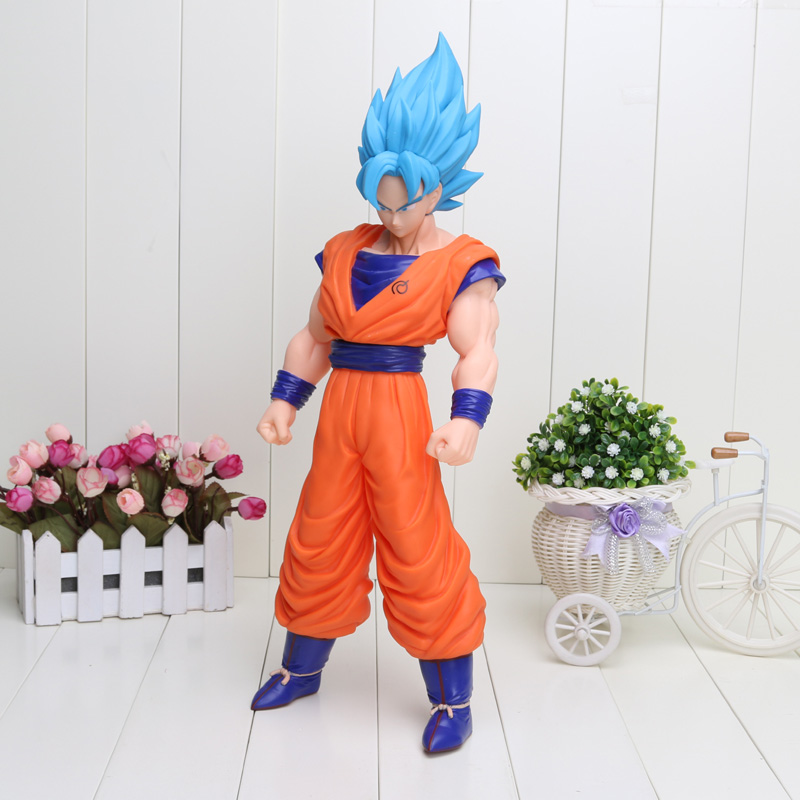 42 cm Dragon Ball Z résurrection F Goku fils Gokou boîte en Pvc belle figurine Pvc Collection modèle poupée jouet