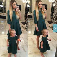 matching family outfits mother daughter dresses mommy and baby girl clothes big