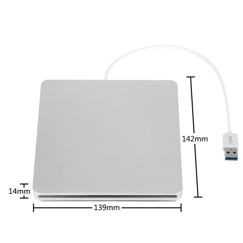 Se envía desde Europa USB 3.0 Blu-ray BD-RW Reproductor Ranura Carga - Componentes informáticos - foto 2