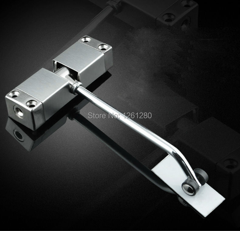 Free shipping simple door closer home closed device door for Automatic door lock for home