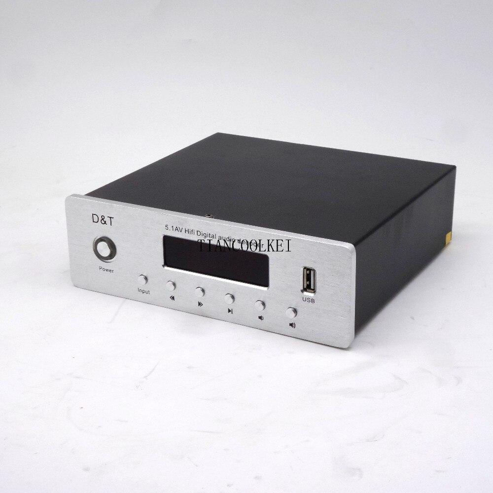 5,1 amplificador Digital con sistema de sonido Home Theater de 6 canales con fibra Coaxial DTS AC3 decodificación de Audio música sin pérdidas - 2