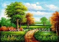 Free Shipping Hot Sell Modern Wall Oil Painting Style  Landscape Home Decorative Art Picture,DIY Fabric Picture,Wall Tapestries