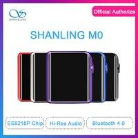SHANLING M0 ES9218P mp3 плеер 32bit/384 кГц Bluetooth AptX LDAC DSD MP3 FALC Портативный музыкальный плеер Здравствуйте Res Audio
