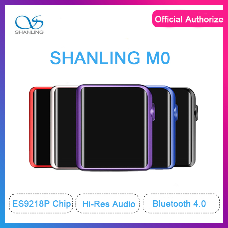 SHANLING M0 ES9218P mp3 player 32bit /384kHz Bluetooth AptX LDAC DSD MP3 FALC Portable Music Player Hi-Res Audio yves saint laurent full metal shadow жидкие тени для век 14 fur green