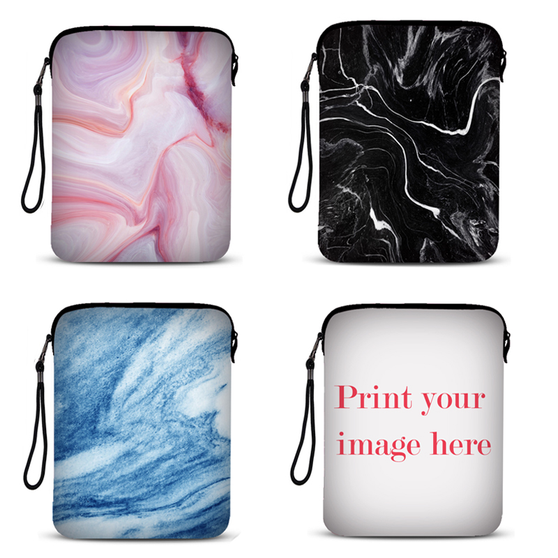 Computer & Office Marble Pattern Tablet Sleeve Pouch Case For Ipad Mini 1/2/3/4/ Laptop Sleeve For Ipad Pro/air1/2 For Ipad 1/2/3/4 Case For Mipad Laptop Bags & Cases