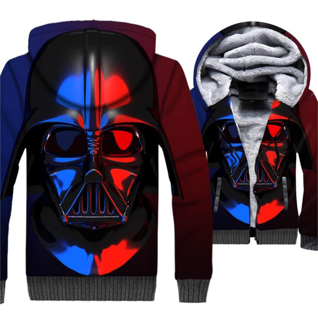 Star Wars Sweatshirts For Men 2018 Autumn Winter Thick Jackets Male Hip Hop Streetwear Men 39 s Hoodies Brand Tops Hoodie Fit M 5XL in Hoodies amp Sweatshirts from Men 39 s Clothing