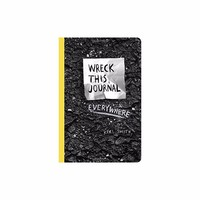 Wreck This Journal Everywhere By Keri Smith 144 Pages English Original Book Wreck This Journal Black