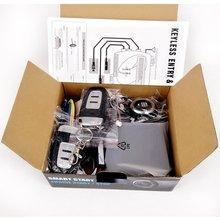 Пассивная система ввода без ключа PKE стартер двигателя кнопочный транспорт старт/стоп комплект безопасный замок с 2 Смарт-ключом