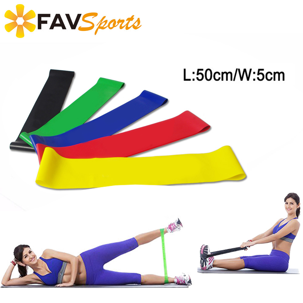 210CM Sport Yoga Stretch Strap Resistance Band Gym Workout Exercise Belt Gear