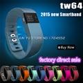 Новый tw64 Smartband смарт браслет браслет фитнес трекер Bluetooth 4.0f шлейф часы для ios лучше , чем ми группа