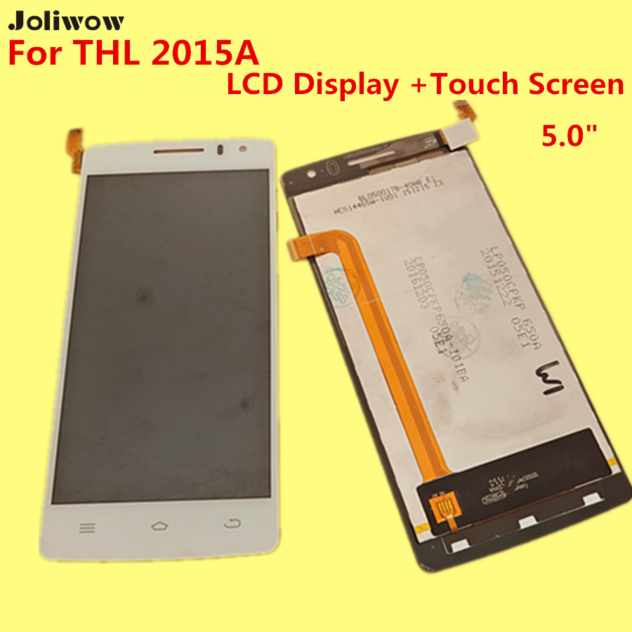 Para THL 2015A LCD Display + Touch Screen + Herramientas Reemplazo Digitalizador