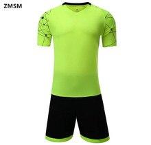 ZMSM Football Sets Men's Soccer Jerseys survetement football 2017 Quick Dry training Uniforms customizable sportswear LT099