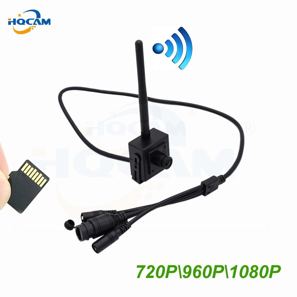 HQCAM HD 720P 960P WIFI IP Camera 1080P indoor Wireless Surveillance Home Security Camera Onvif CCTV Camera TF Card Slot app Ca