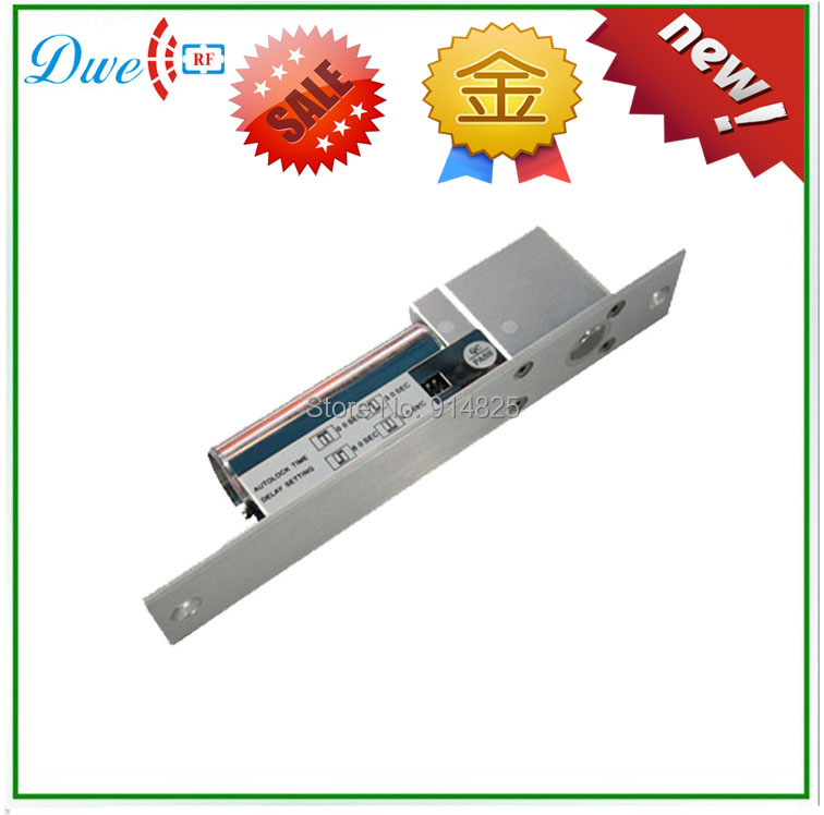ФОТО Free Fhipping High Quality 12V RFID Door Lock Fail Fafe Electric Bolt Electric Strike(800KG)
