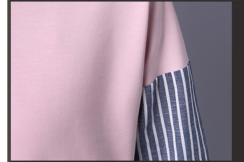 HTB1vzY5QXXXXXbJXVXXq6xXFXXXB - 2017 Spring Blouses Shirt Female Long Sleeve Casual Striped