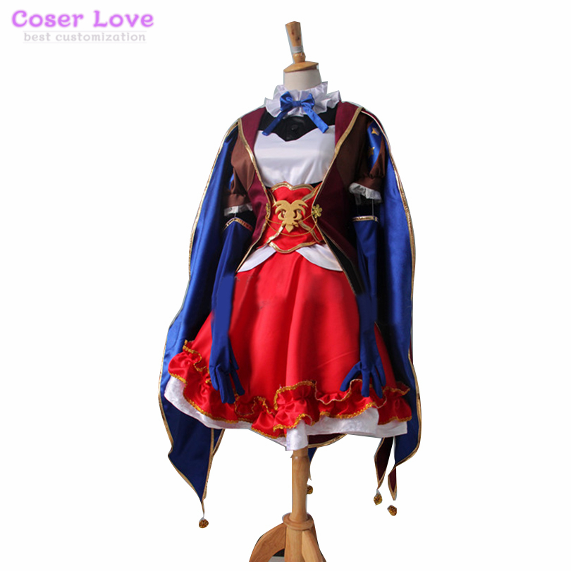 Fate Grand Order Puppet Leonardo Da Vinci Top Skirt Suit Cosplay Helloween Carnaval New Years Christmas Costume August 2020