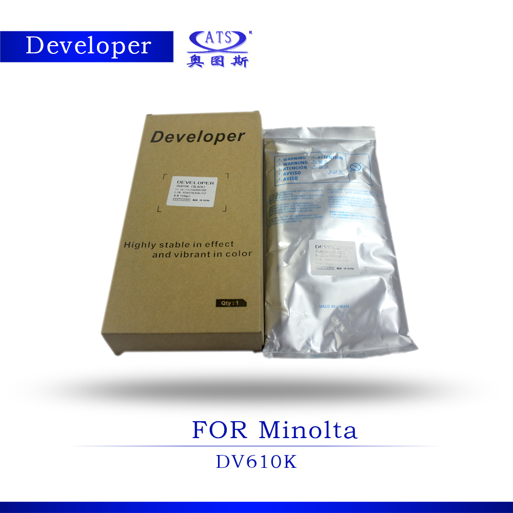DV610 Developer For Minolta C6500 C5500 Developer Powder Photocopy machine high quality copier toner c builder borland developer studio 2006 для профессионалов