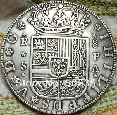 1731 Spain 8 Reales Coins In Non Currency From Home Garden On Aliexpress