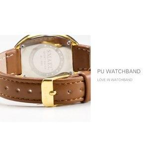 Image 3 - Smael novo relógio de quartzo inoxidável relógios femininos moda casual marca luxo senhoras relógio digital sl1880 mulher relógios à prova dwaterproof água