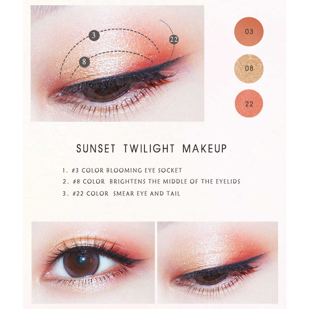 24 colores brillo sombra de ojos mate textura polvo sombra de ojos paleta de sombras maquillaje cosmético Maquiagem TSLM1