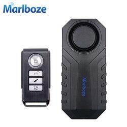Marlboze Tahan Air Remote Control Sepeda Motor Mobil Listrik Kendaraan Keamanan Anti Lost Mengingatkan Getaran Peringatan Alarm Sensor