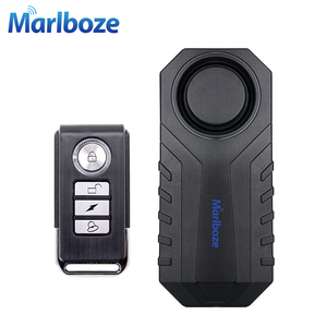 Marlboze Waterproof Remote Control Bike Motorcycle Electric Car Vehicle Security Anti Lost Remind Vibration Warning Alarm Sensor(China)