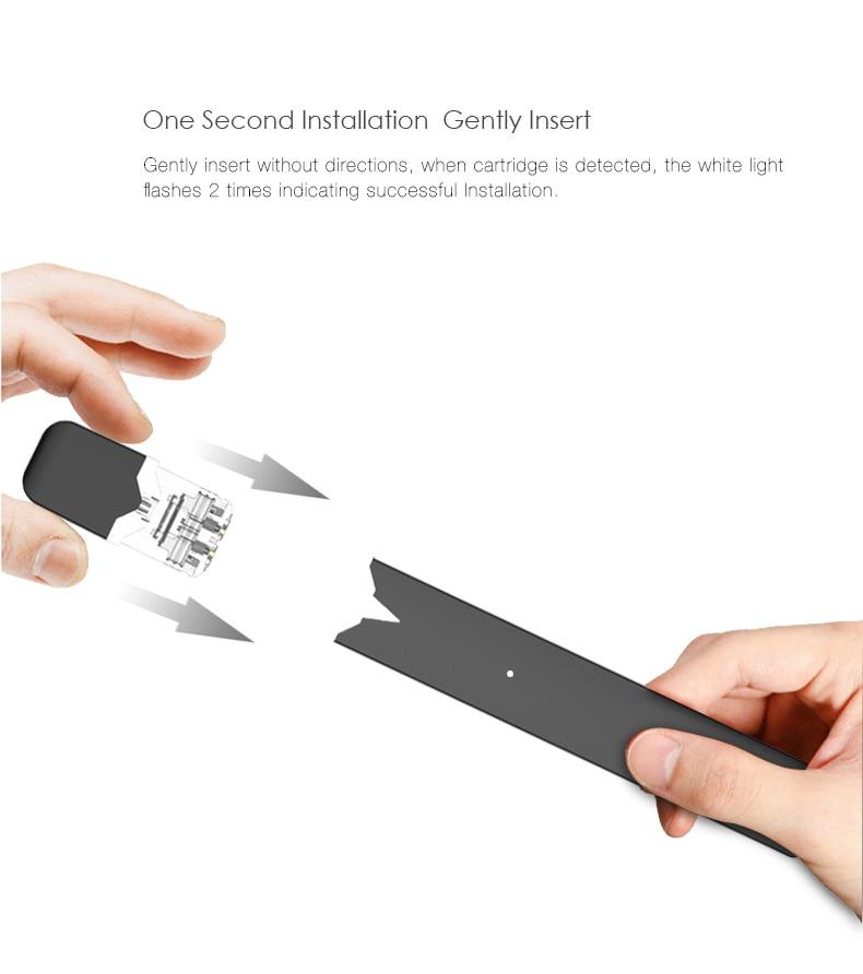 , Newest Original Rofvape OVNS W01 Pod Vape Kit LED power indicating Pod System Vape Pen Electronic Cigarette Kit VS infinix kit